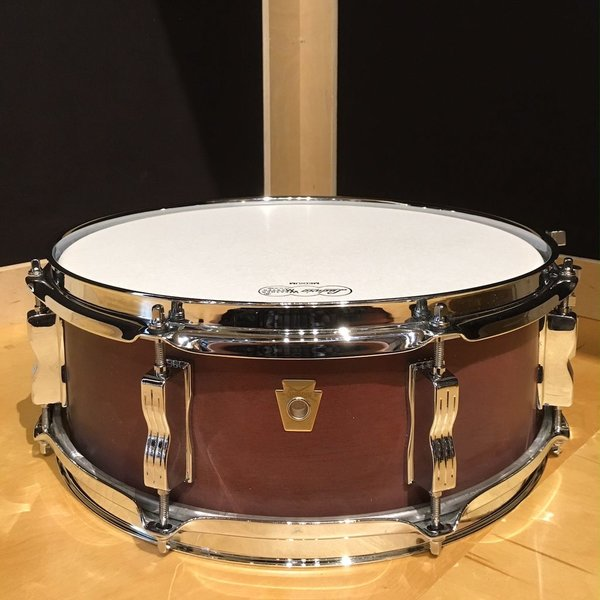 Ludwig Ludwig USA Legacy Mahogany 5x14 8 Lug Snare Drum in Mahogany Satin Finish