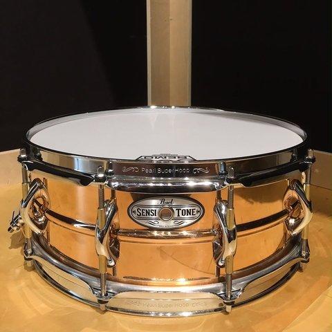 Pearl Sensitone Premium 5x14 Beaded Phosphor Bronze Snare Drum
