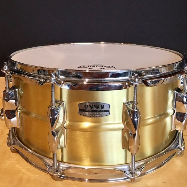 Yamaha Yamaha Recording Custom 6.5x14 Brass Snare Drum