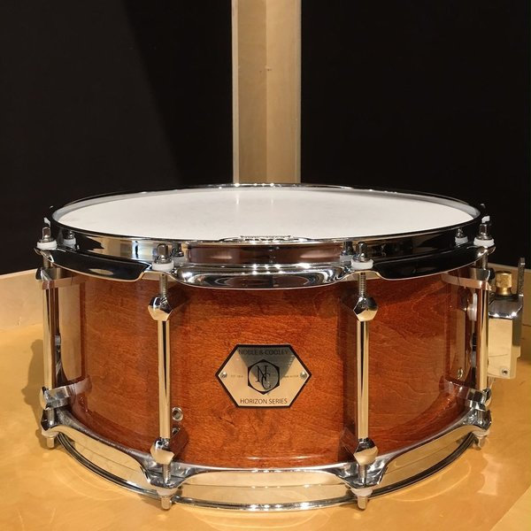 Noble & Cooley Horizon 6x14 Snare Drum in Honey Maple Gloss Finish