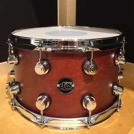 DW DW Performance Series 8x14 Snare Drum in Tobacco Stain Finish