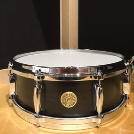 Gretsch Gretsch USA Custom 5x14 8 Lug Snare Drum in Satin Ebony Finish