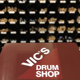 Vic's Drum Shop $25 Gift Card