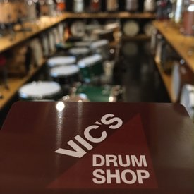 Vic's Drum Shop $250 Gift Card