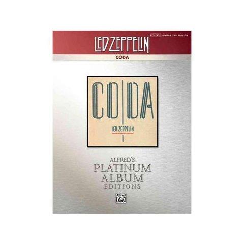 Alfred's Platinum Album Editions: Led Zeppelin: Coda; Book