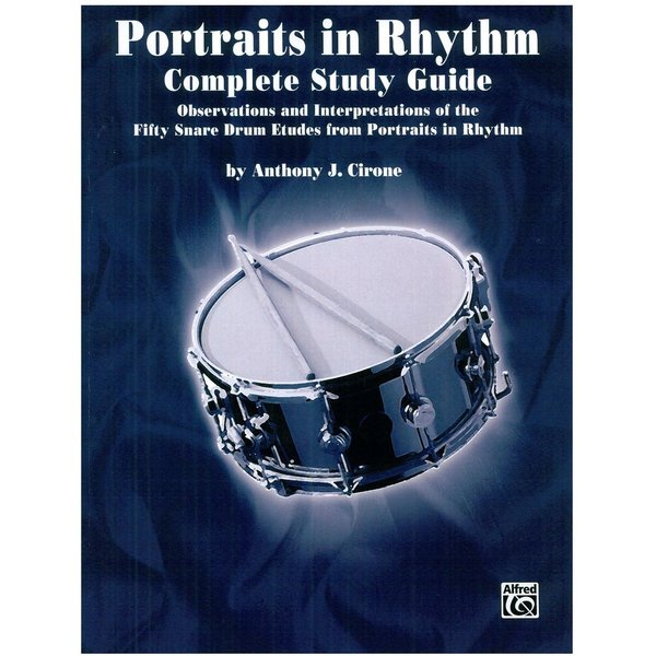 Alfred Publishing Portraits In Rhythm Study Guide by Anthony Cirone; Book