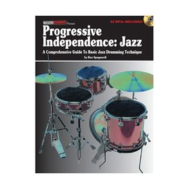 Hal Leonard Progressive Independence: Jazz by Ron Spagnardi; Book & CD