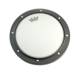 "Remo Remo Practice Pad 8"" Diameter - Gray Coated Head"