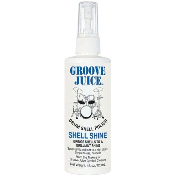 Groove Juice Shell Shine Drum Shell Polish 4fl oz