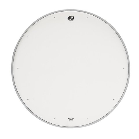 "DW 12"" Coated Drum Head W/ Tuning Sequence"