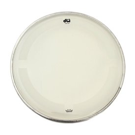 "DW DW 16"" Coated Clear Drum Head"