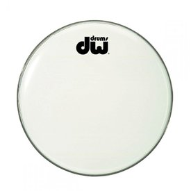 "DW DW 20"" Texture Coated Bass Drum Logo Head"