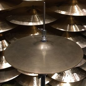 "Used Vintage Zildjian 1960's Avedis 13"" Hi Hat Cymbals; 646g/661g"