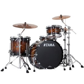 Tama Tama Starclassic Performer B/B 3 Piece Shell Pack in Molten Brown Burst Finish
