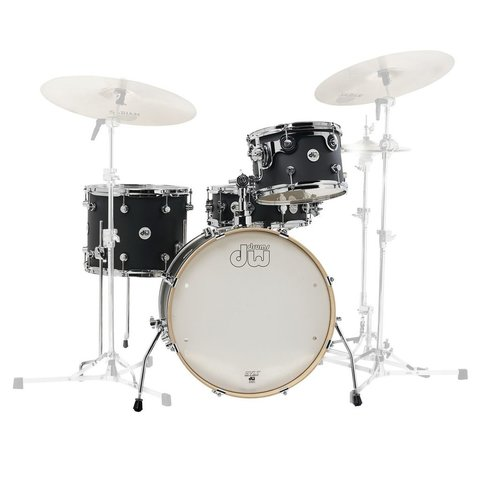 DW Design Frequent Flier 4 Piece Shell Pack in Satin Black