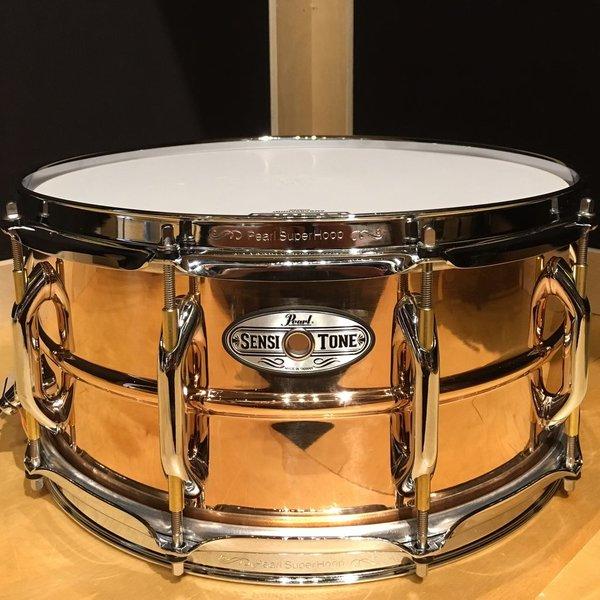 Pearl Pearl Sensitone Premium 6.5x14 Beaded Phosphor Bronze Snare Drum
