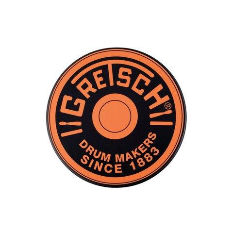 "Gretsch Round Badge 6"" Practice Pad; Gold"