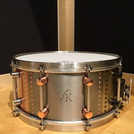 VK Drums '7 Snare' 6.5x14 Snare Drum