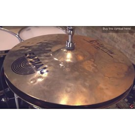 "Sabian Sabian HH 14"" Will Calhoun Mad Hi Hat Cymbals; Signed by Will Calhoun"