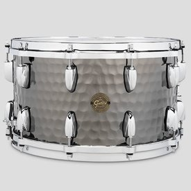 Gretsch Gretsch Full Range 8x14 Hammered Steel Snare Drum