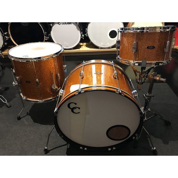 C&C Used C&C Player Date 1 3pc Shell Pack, Orange Sparkle