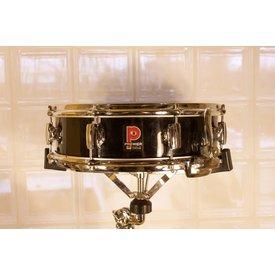Vintage Premier 2000 4x14 Mahogany Snare Drum, Black Wrap
