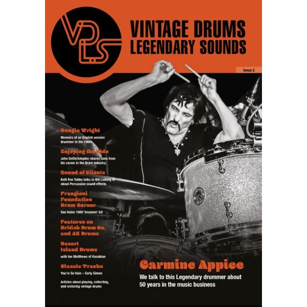 Hal Leonard Vintage Drums Legendary Sounds Magazine - Issue 2