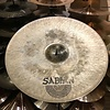 """Used Sabian Hand Hammered 21"""" Raw Bell Dry RIde"""
