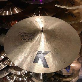 """Used Zildjian K Pre-Aged 22"""" Ride Cymbal"""