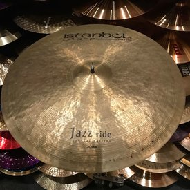 "Used Used Istanbul Agop 24"" Jazz Ride Cymbal"