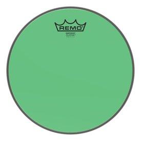 """Remo Remo Emperor Colortone  Green Drumhead ,10"""""""