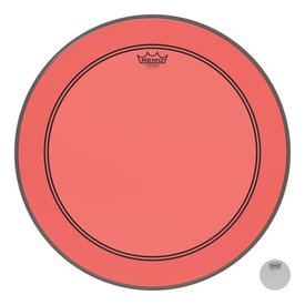 Remo Remo Powerstroke P3 Colortone  Red Bass Drumhead, 22""