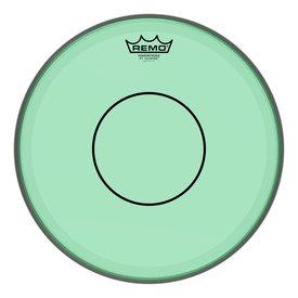 """Remo Remo Powerstroke 77 Colortone  Green Drumhead, 14"""""""