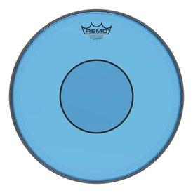 """Remo Remo Powerstroke 77 Colortone  Blue Drumhead, 14"""""""
