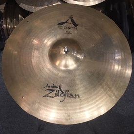 "Zildjian Used Zildjian A Custom 20"" Ride Cymbal; 3 Rivets"