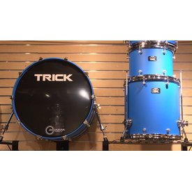 Trick Trick Drum Co., VMT1 Shell Pack: 14x22, 9x13, 16x16. Cast Blue