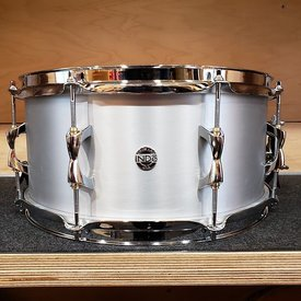 INDE Independent Drum Lab 6.5x14 Aluminum Snare Drum, Steel Hoops