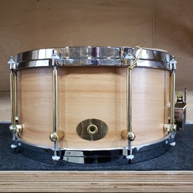 Noble & Cooley SS Classic 7x14 Solid Beech Snare Drum in Natural Oil Finish