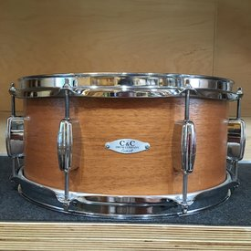 Used Used C&C 14x6.5 Maple/Poplar/Mahogany Snare Drum
