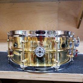 Dunnett Dunnett Classic Model 2N Brass 6.5x14 Snare Drum
