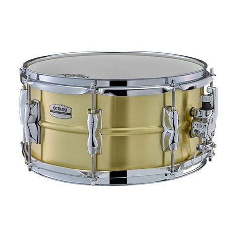 Yamaha Recording Custom 6.5x13 Brass Snare Drum