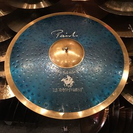 "Paiste USED Paiste Signature 22"" Blue Bell Ride Cymbal"