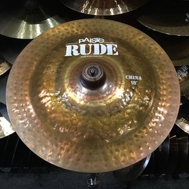 "Paiste USED Paiste Rude 18"" China Cymbal"