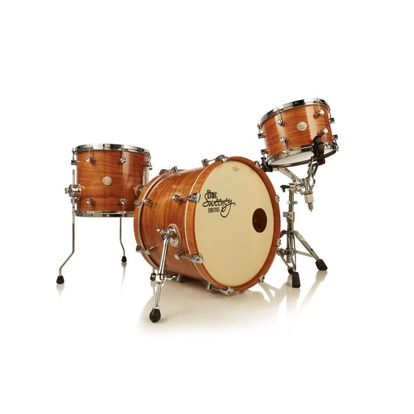 "Doc Sweeney Doc Sweeney ""Santa Fe"" 4-Piece Steam Bent Cherry Drum Kit"