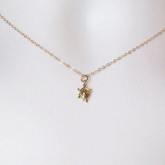 The Wandering Dandelion Wandering Dandelion Turtle Necklace