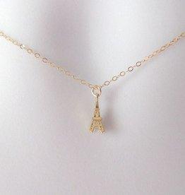 The Wandering Dandelion Wandering Dandelion Eiffel Tower Necklace