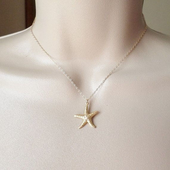 The Wandering Dandelion Wandering Dandelion Starfish Necklace