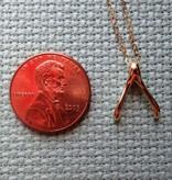 The Wandering Dandelion Wandering Dandelion - Wishbone Necklace