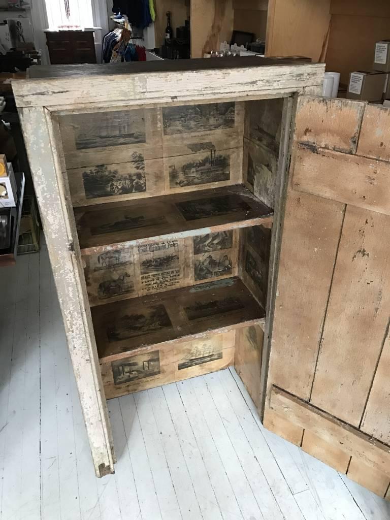 Vintage Pie Safe Cabinet