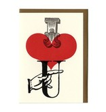 Paper Hammer Paper Hammer Greeting Card